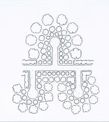 la jardin multiétagé Allc3a9estroudeserrure