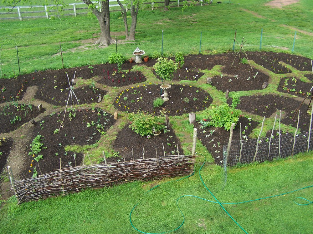 Key hole for Jardin permaculture 2015